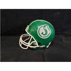 Saskatchewan Roughrider helmet No Reserve