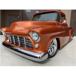 LOWERED RESERVE! 1955 CHEVY APACHE STEP SIDE BIG WINDOW PICK UP TRUCK
