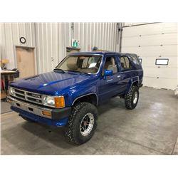 1988 TOYOTA 4 RUNNER SR5