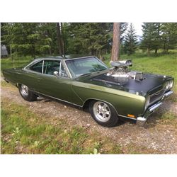 1969 PLYMOUTH GTX PRO STREET 528 HEMI