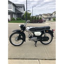 1963 Suzuki MD 50 vintage classic motorcycle very rare black with chrome inserts NO RESERVE