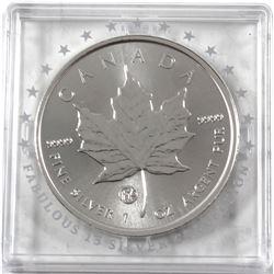 2018 Canada $5 F15 Privy 1oz Silver Maple (Tax Exempt)