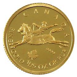 2006 Canada 50-cent 1/25oz Fine Gold Cowboy (Tax Exempt)