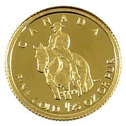 2010 Canada 50-cent 1/25oz Fine Gold RCMP (Tax Exempt)