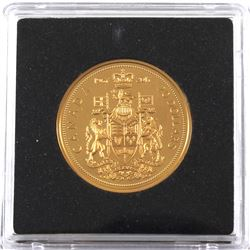1967-2017 Canada $20 Centennial Commemorative Gold Plated Proof Fine Silver (Tax Exempt) Coin comes