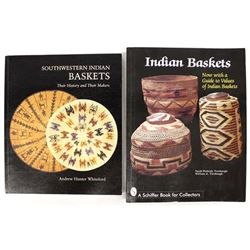 2 Reference Books on Native American Basketry