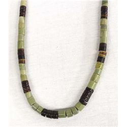 Santo Domingo Serpentine Heishi Necklace