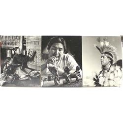 3 Native American Photographic Prints