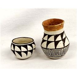2 Pieces Historic Native American Acoma Pottery