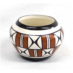 Acoma Pottery Bowl by G. Louis