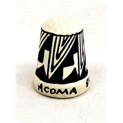 Acoma Pueblo Pottery Thimble