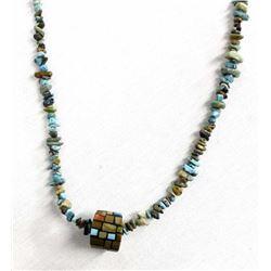 Santo Domingo Gemstone Nugget Pendant Necklace