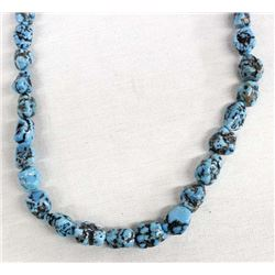 Native American Navajo Turquoise Nugget Necklace