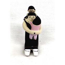 Jemez Pueblo Miniature Pottery Storyteller