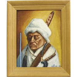 Original ''Wind River Shoshone'' Painting