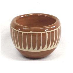 Santa Clara Pottery Bowl by Mae Tapia-Suazo