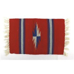 Vintage New Mexico Chimayo Wool Textile