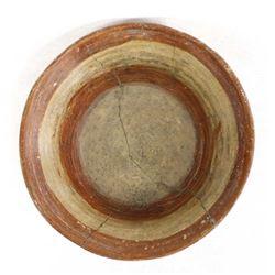 Pre Columbian Mixtec Culture Pottery Tripod Bowl