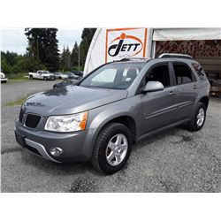 D4 --  2006 PONTIAC TORRENT  , Grey , 236251  KM's
