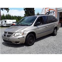 "A5 --  2003 DODGE GRAND CARAVAN SPORT , Brown , 294709  KM's ""NO RESERVE"""