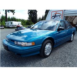 C4 --  1994 OLDSMOBILE CUTLASS SUPREME S  , Green , 57544  KM's