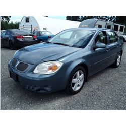 E6 --  2006 PONTIAC PURSUIT SE , Blue , 179688  KM's