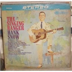 1959 LP used record 33 The Singing Ranger Hank Snow in English - en anglais utilisé