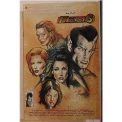 Entity Comics Fem5 Volume 1 #1 1996 - bande dessinée