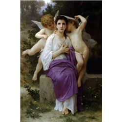 William Bouguereau - Leveil du Coeur
