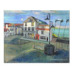 Bus Stop Devon by Zwarenstein Original