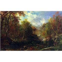 The Emerald Pond by Albert Bierstadt
