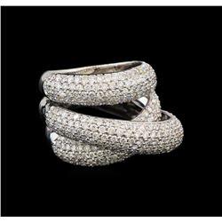 14KT White Gold 2.68 ctw Diamond Ring