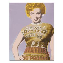 "See My Potato Sack (Marilyn) by ""Ringo"" Daniel Funes"