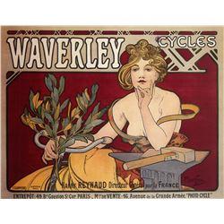 Alphonse Mucha - Waverley Cycles