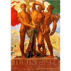 Adolfo Carolis - Turin 1911