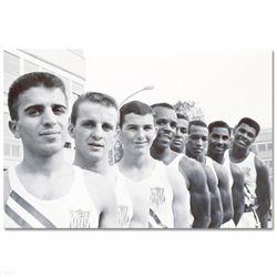 Ali with USA Olympians by Ali, Muhammad