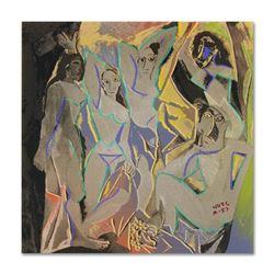 """Les Demoiselles d'Avignon by """"Ringo"""" Daniel Funes"""