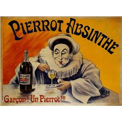 Lucien M�tivet - Pierrot Absinthe Garcon