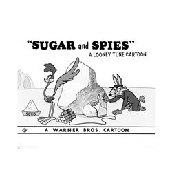 Warner Brothers Hologram Sugar and Spies