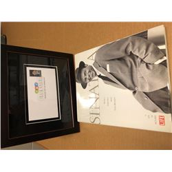 """First Day Cover"" & 1st Edition Book by Sinatra"