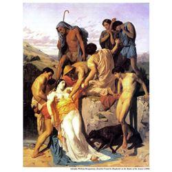 William Bouguereau - Zenobia 1850