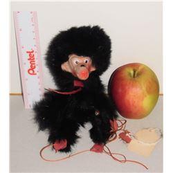 old fur toy marionnette - vieille avec fourrure