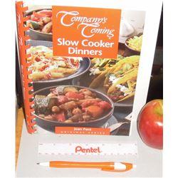Alberta's Canada Jean Paré Slow Cooker Dinners Cookbook 2005 156 pages - livre recettes en anglais