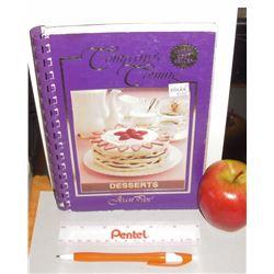 Alberta's Canada Jean Paré Desserts Cookbook 1986 156 pages - livre recettes en anglais