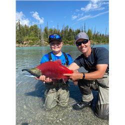 2021  Alaska Kenai Peninsula Fishing Trip for Two (2) People