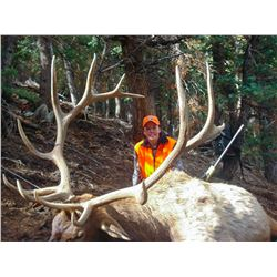 2021 Utah Plateau, Boulder/Kaiparowits Bull Elk Conservation Permit Any Legal Weapon (rifle)