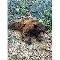 2021 La Sal Black Bear Conservation Permit Multi-season