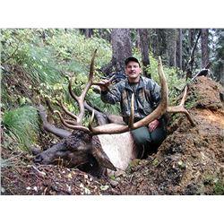 MONTANA ELK HUNT for Two (2) Hunters