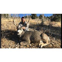 2021 Nevada Heritage Statewide Mule Deer