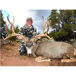 2021 Utah Buck Deer San Juan, Elk Ridge Conservation Permit, Hunter's Choice
